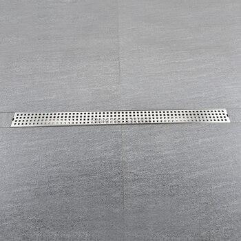 800*68MM Floor Drain Stainless Steel 304 Linear Shower Drain Vertical Long Drain Flange Bathroom Floor Drains
