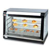 Food Heat Insualtion Cabinet Commercial Food Display Case Egg Tart/Bread Heat Preservation Showcase R60 1