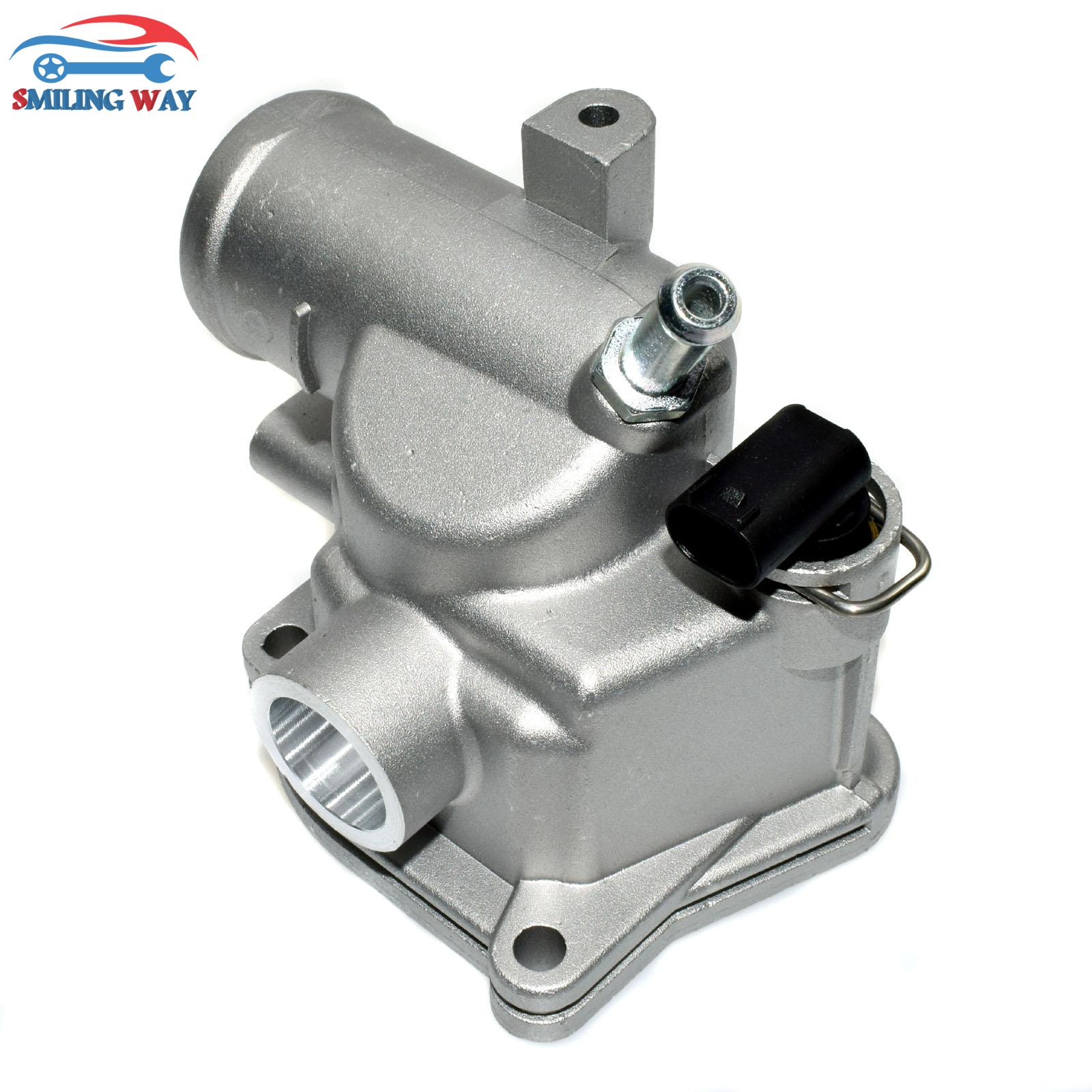 smiling way engine coolant thermostat for mercedes benz w202 s202 c class e class c200 e200 c36 amg oe 6112000015 6112030075 [ 1600 x 1600 Pixel ]
