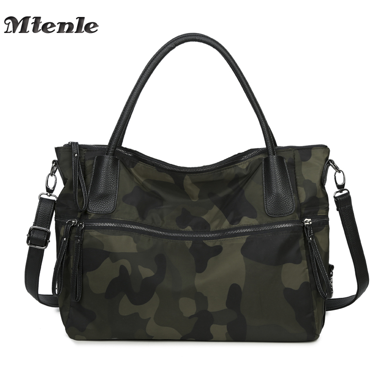 MTENLE Fashion Men Women Handbags Bag Large Capacity Ladies Shoulder Bag Sac a Main Femme Totes Bags Camouflage Bolsos Mujer FI