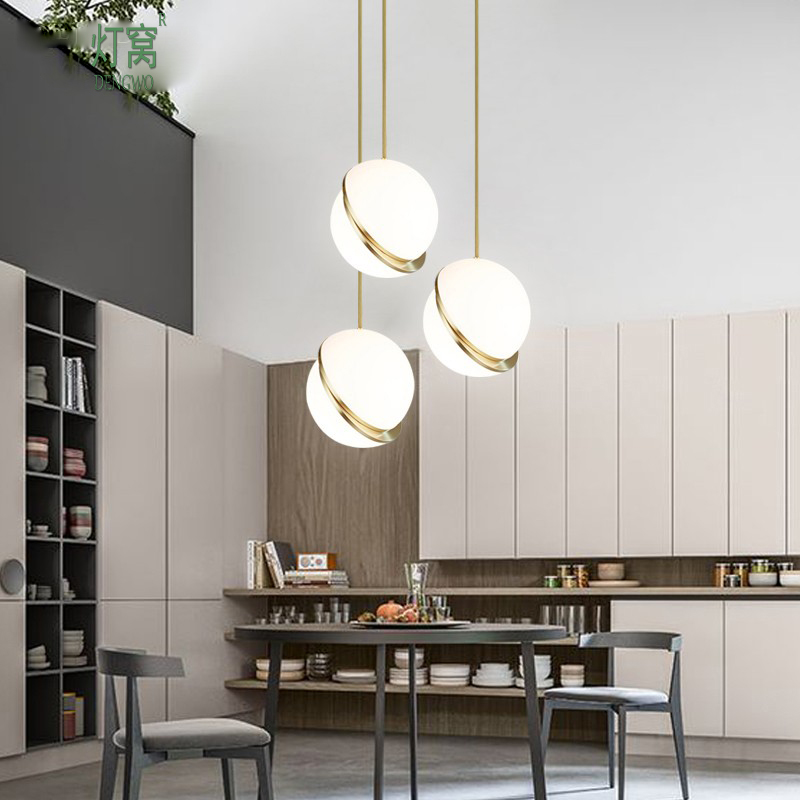 Free Shipping Modern LED Pendant Lamp Acrylic Shade Metal Plating 90-265V Designer Light for Living Dinning Room Lighting free shipping modern led pendant light d80cm pendant lamp clear crystal stainless steel 90 265v suspension lamp dinning pendant