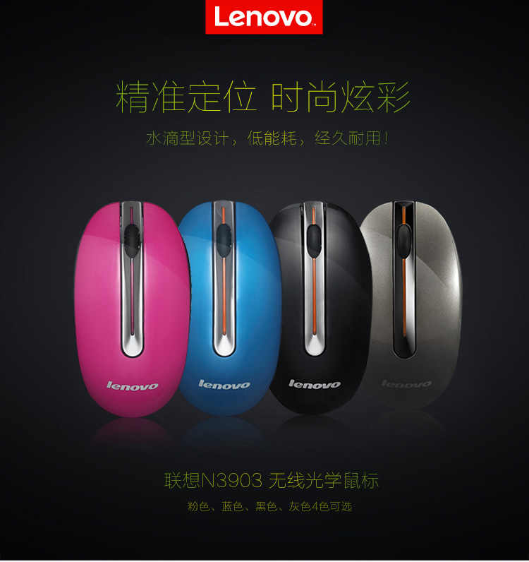 e7ce7f585b0 ... Lenovo mini Wireless bluetooth Mouse N3903 USB Interface mouse for  computer MAC PC Laptop gaming mouse ...