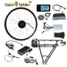 250 W/350 W/500 W 36 V-48 V Porte-Bagages Arrière Batterie Vélo Électrique Kits Électrique vélo Kit de Conversion Pour 20 «26» 700C 28 «vélo Carénage