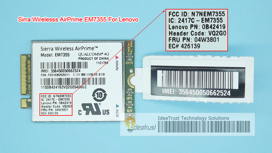 Sierra EM7355 Gobi5000 FRU 04W3801 LTE EVDO  NGFF 4G  WWAN Network Card for  l440 l540 T431s T440 T440s T440p T540P W540 X240 ботики jj gobi