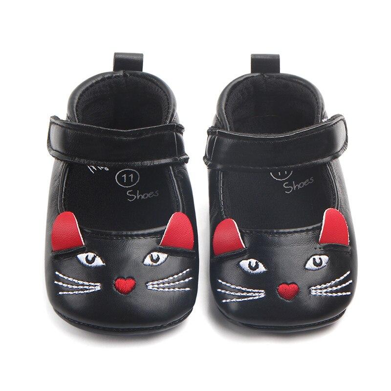 Mignon pour Bébé Enfant Garçons Filles Semelle Souple Prewalker Crib Chaussures Sneaker 0-18 M
