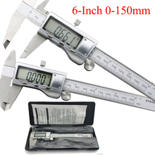 0-150mm/6″ Metal casing Digital CALIPER VERNIER caliper metal digital caliper GAUGE Micrometer Measuring Stainless steel caliper