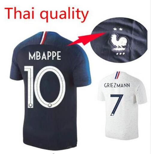 2018 Maillot Equipe De France 2 Etoiles In Soccer Jerseys From Sports Entertainment On Aliexpresscom Alibaba Group