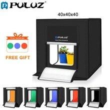 PULUZ 40*40cm 16inc Mini Photo Studio Box Lightbox Photograghy Softbox Led Photo Lighting Studio Shooting Tent Box Kit Light box цена 2017