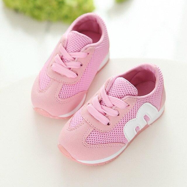 6bc0bdfbc Malha Crianças Menino Menina Sneakers Crianças Correndo Calçados Esportivos Sapato  Infantil Menina Respirável Sapatos de Bebê