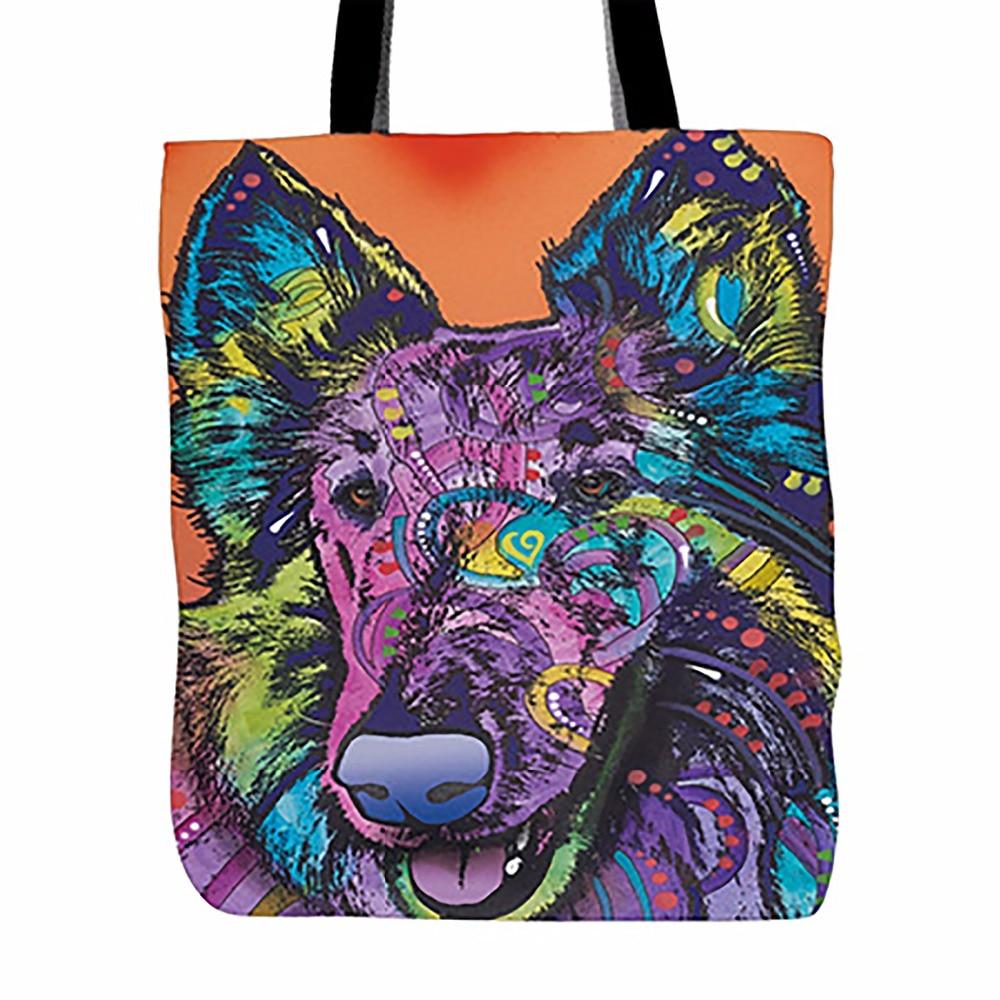 Pet Austral Australian Shepherd Series Dog Tote Bag Muilt Color - Պայուսակներ