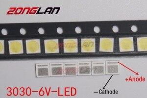 Image 2 - LED 1000 ชิ้น/ล็อต Backlight LED 1.8W 3030 6V Cool สีขาว 150 187LM PT30W45 V1 แอ็พพลิเคชันทีวี
