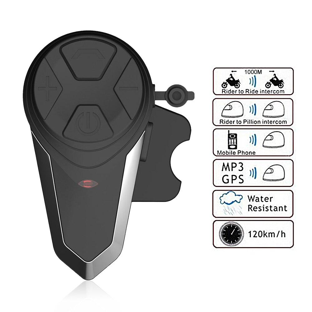 BT-S3 motorcycle helmet intercom 1000M wireless helmet bluetooth headset waterproof BT interphone intercomunicador moto FM 2pcs intercom built in fm radio motorcycle bluetooth helmet intercom 1000m wireless waterproof moto interphone headsets