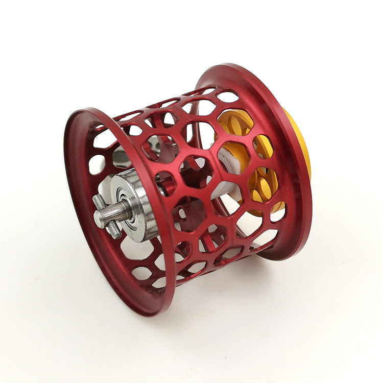 DIY DAIWA ALPHAS SV 105SH CUSTOM HONEYCOMB FISHING REEL SPOOL