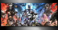 HD Printed Comics Crossover Batman Nightwing Painting Room Decor Print Poster Picture Canvas Free Shipping Ny