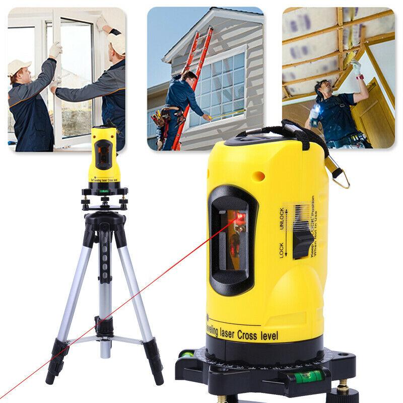 automatic-self-levelling-cross-line-laser-level-tripod-set-measuring-laser