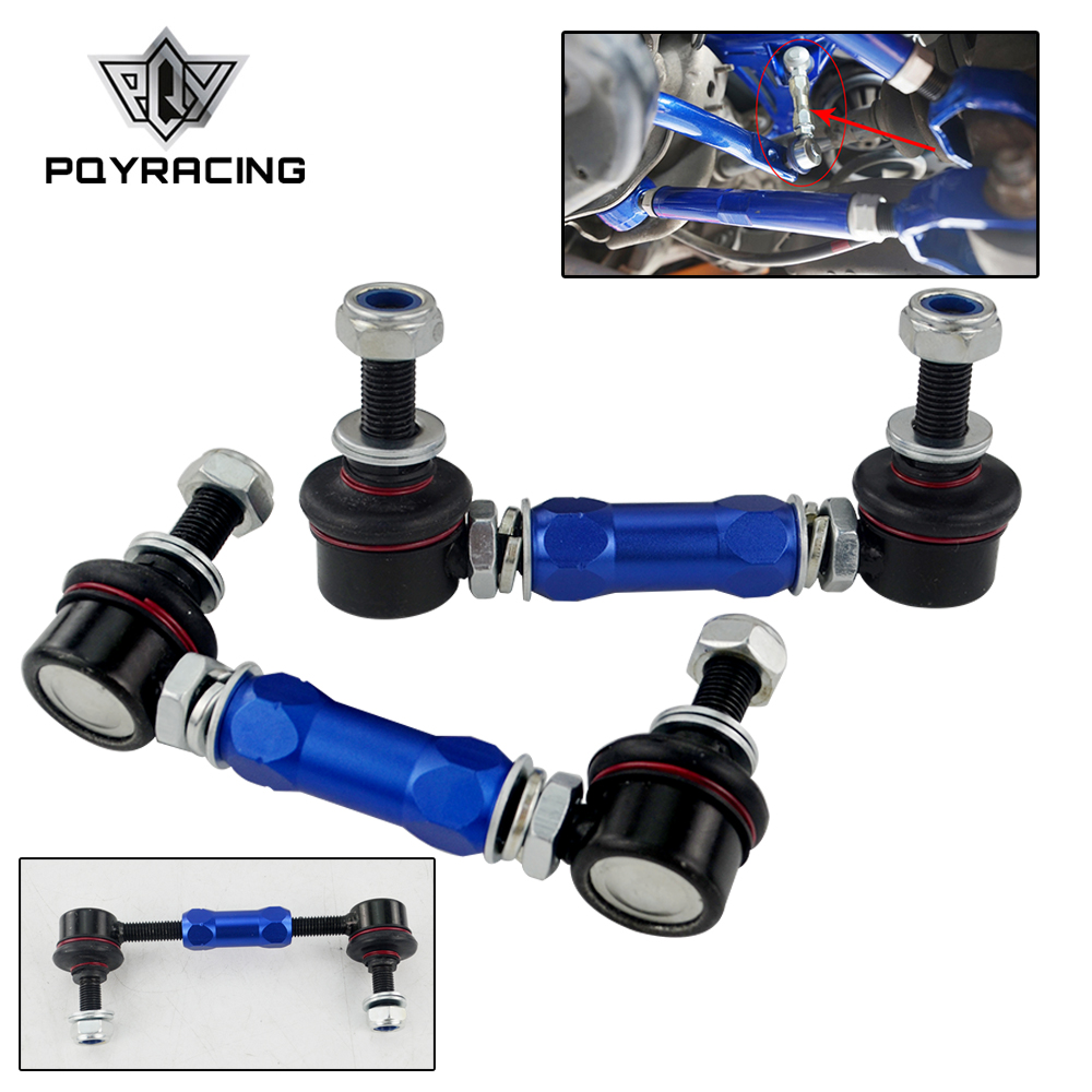 PQY 100mm 120mm Ball Joint Adjustable Sway Bar End Link For BMW Honda Ford Toyota Holden HSV Mazda Mitsubishi Nissan PQY SEL03