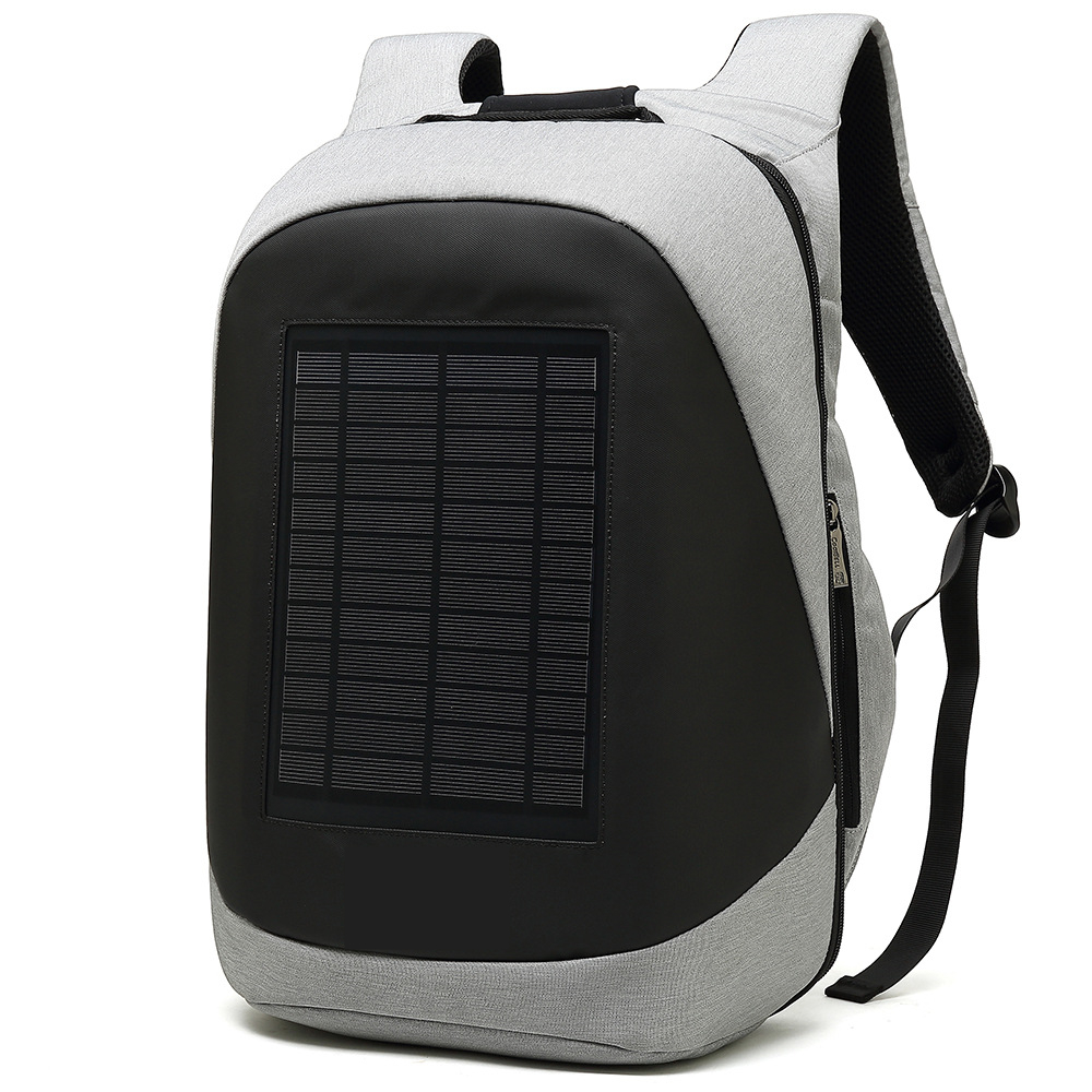 Image 5 - Solar Charging Backpack Men Businessmen laptop bag High tec Back Packs Anti theft Superior Pack Super cool different distinctive-in Backpacks from Luggage & Bags