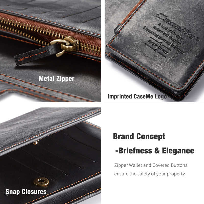 For Huawei Honor 8 9 9i 10 Case Honor 9Lite Genuine Leather Zipper Wallet Case For Huawei Honor V8 V9 Play V10 Honor Play Case