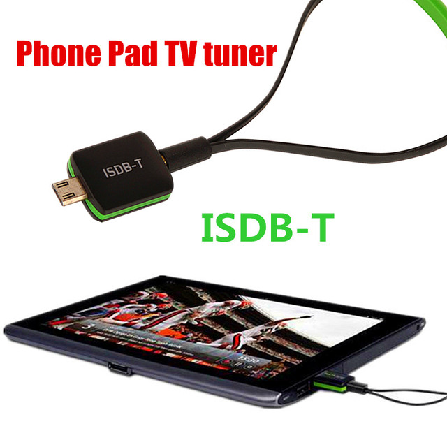 HD digital ISDB-T 4SEG receiver TV tuner Android Phone/Pad usb tv stick for Japan Philippines Brazil Argentina Chile