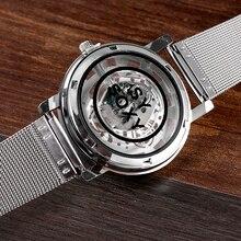 Silver Wrist Watch Simple Style Mesh Belt Women Quartz Watches Fashion