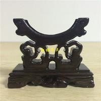 Fabbrica Diretta artigianato del legno/Nero Azusa monili di legno rack/titolare del braccialetto/braccialetto/monili rack
