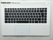 ND Nordic keyboard for ASUS X451 X451E X451M X451C X451E1007CA Palmrest Upper Cover Layout