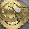 Скандинавское Золотое зарядное устройство  пластиковые тарелки  жемчужный декоративный поднос  салат  фруктовые Свадебные тарелки  обеден...