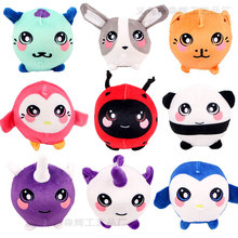 Plush Squishy Toys for Children Skuishy Animales Slow Racing Antistress Toys Cartoon Design Cute Squishys Adult Anti-stress Toys