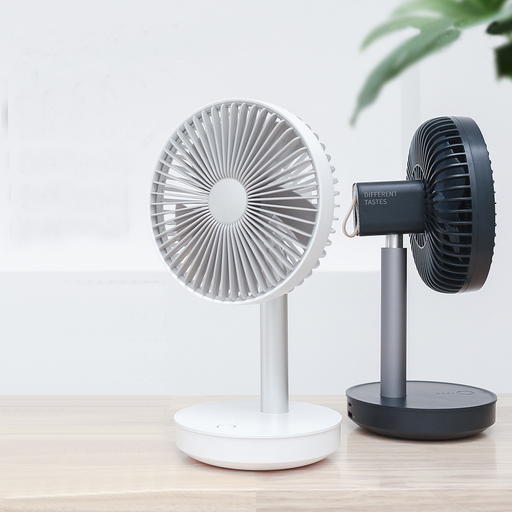 P19 4 Gear Cooling Fan 3-Speed Adjustable Wind Float Head Desktop Portable Mini Fan 4000mAh Rechargeable USB Desk Air CoolingFanP19 4 Gear Cooling Fan 3-Speed Adjustable Wind Float Head Desktop Portable Mini Fan 4000mAh Rechargeable USB Desk Air CoolingFan
