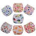 3 pc/lot Bebé cambio de Pañales Lavables Reutilizables pañales pañal de tela de algodón pantalón de entrenamiento sassy fraldas reutilizaveis