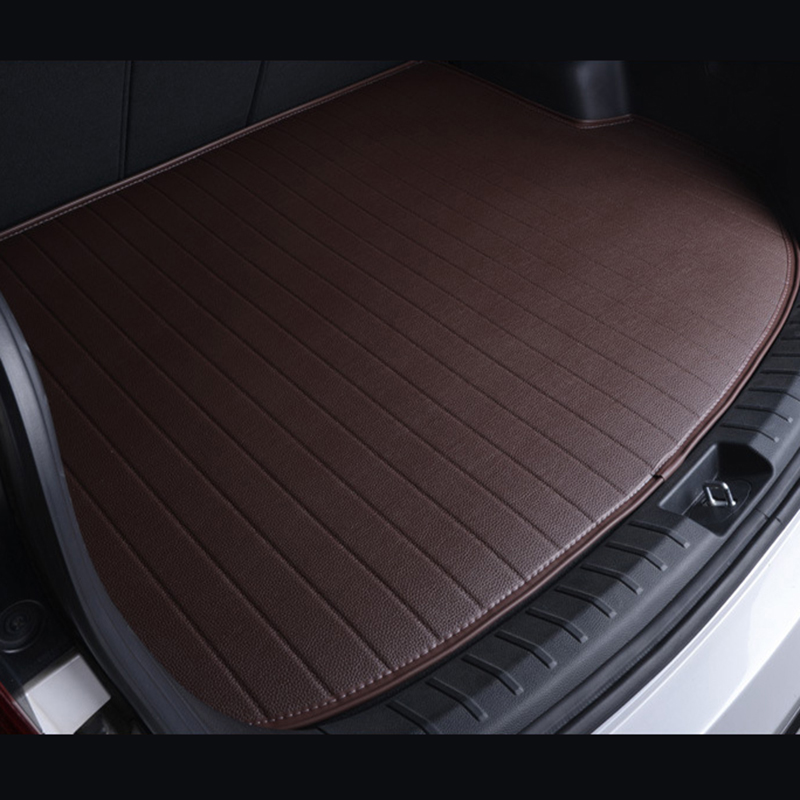 Special car trunk mats for Four Season Use for smart all models fortwo forfour forjeremy car accessories auto styling foot mats car rear trunk security shield cargo cover for volkswagen vw tiguan 2016 2017 2018 high qualit black beige auto accessories