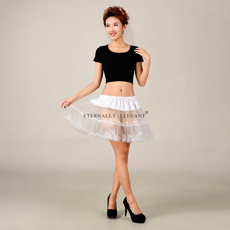 2018 New Design Sexy Sheer Tutu Skirt Adult Petticoat Tulle Tutu Skirt Lolita Petticoat Many Color EE6612