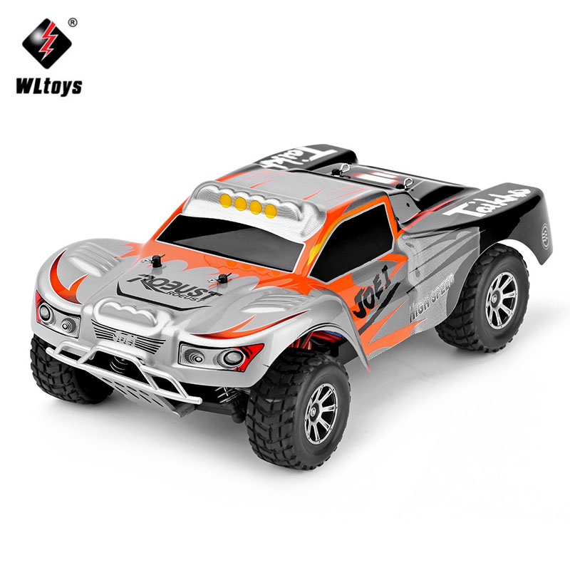 WLtoys RC Car A969 1/18 Scale Toy 2.4G 4WD 4CH 50km/h High Speed RC Drift Short Course Long Distance Control 4 wheel Drive Car купить в Москве 2019