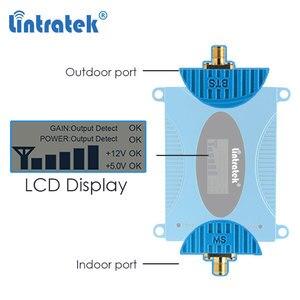 Image 2 - Lintratek GSM 850 CDMA UMTS Mobile Phone Amplifier LTE 850mhz Celular Signal Booster 2g 3g 4g Cellular Repeater Repetidor Set #6