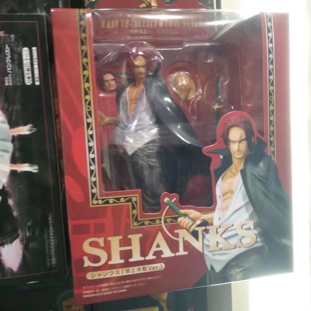 One Piece Shanks And Dracule Mihawk Action Figure Pvc 18cm/16cm Brinquedos Shanks Action Figure Anime One Piece Figures WX281 free shipping anime one piece dracule mihawk pvc action figure collection toy 6 15cm