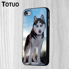 New Brand Huskies Phone Shell Background DIY Custom made Plastic Durable Phone Protection Cover Cases for iphone 4S 5C 5S