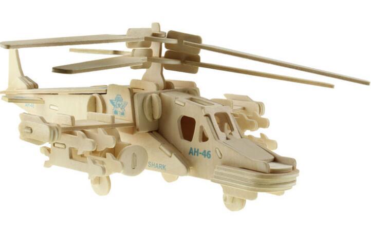 Моделирование Черная Акула HD игрушка модель 3d трехмерные деревянные головоломки игрушки для детей Diy ручной работы деревянные головоломки