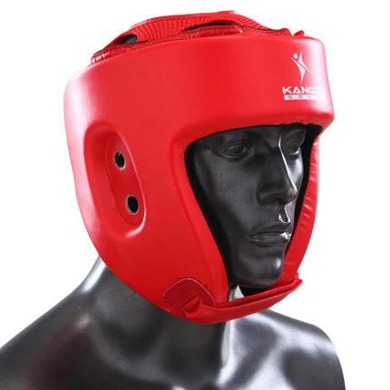 Prix pour Vente chaude PU MMA Casque head gear kick Boxe Karaté protecteurs de tête ProForce Mâle Visage protecteurs coiffures Sparring Casque Combat