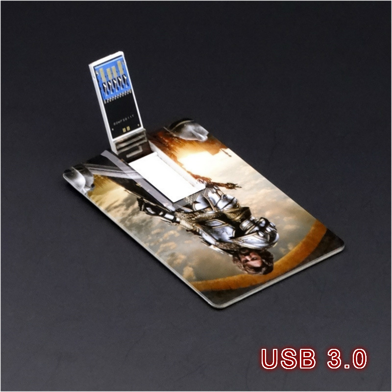 custom OEM Logo Promotion Super Thin Credit Card USB3.0 4g 8g Hight quality Speed Flash USB Drive Business Card for Best Gifts