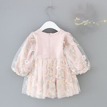 Kids Baby Girls Clothes Dress Flowers Outfit
