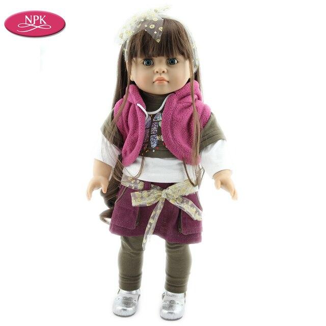 NPK muñeca americana Juguetes chica realista princesa Juguetes ...