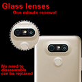 """Rear Camera Lens Explosion Proof Glass Film For LG G5 5.3"""" Back Camera Lens Ultra Clear Tempered Glass Protective Film + Cloth"""