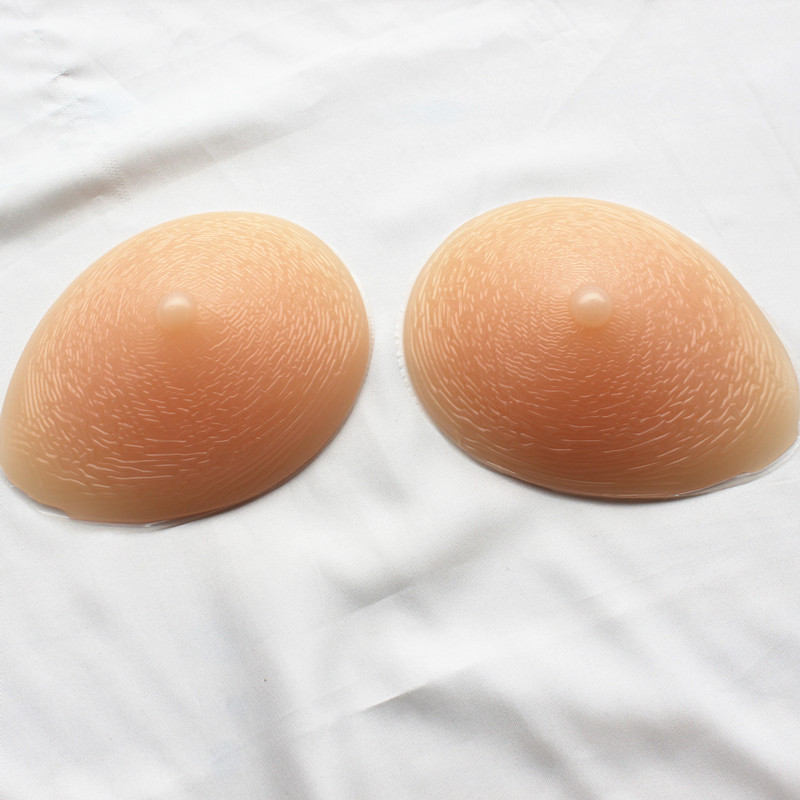 ФОТО 900g/pair Size6 85C/90B/95A BREAST FORMS Solid Foam Fake Boobs/Falsies/Enhancers SILICONE BREAST FORMS Mastectomy
