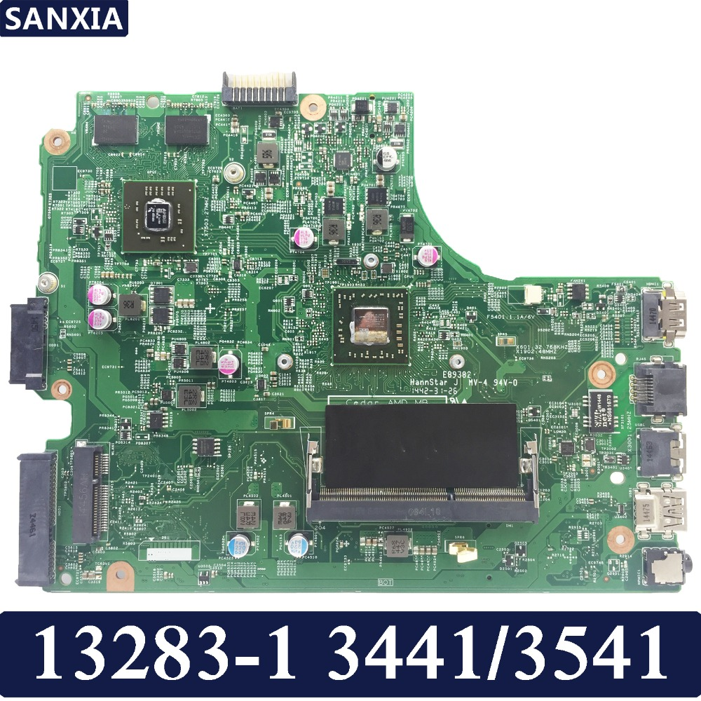 KEFU 13283-1 Laptop motherboard for dell 3441 3541 Test original mainboard APU PM image