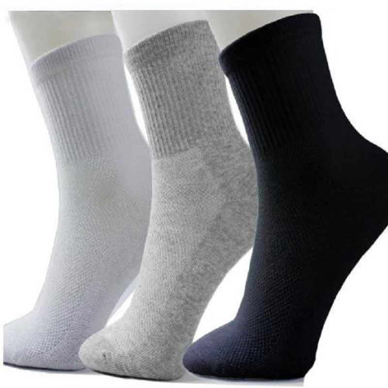 10Pair /LOT Free Shipping New Brand Quality Men's Brand Socks/ Autumn Winter Thermal  Soft Cotton Sport Sock For Men