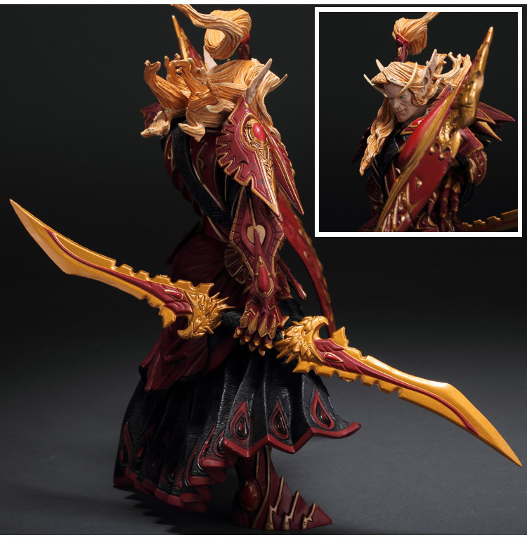 BLOOD ELF PALADIN: QUIN'THALAN SUNFIRE wow Action Figure Collectable Model Toy 1