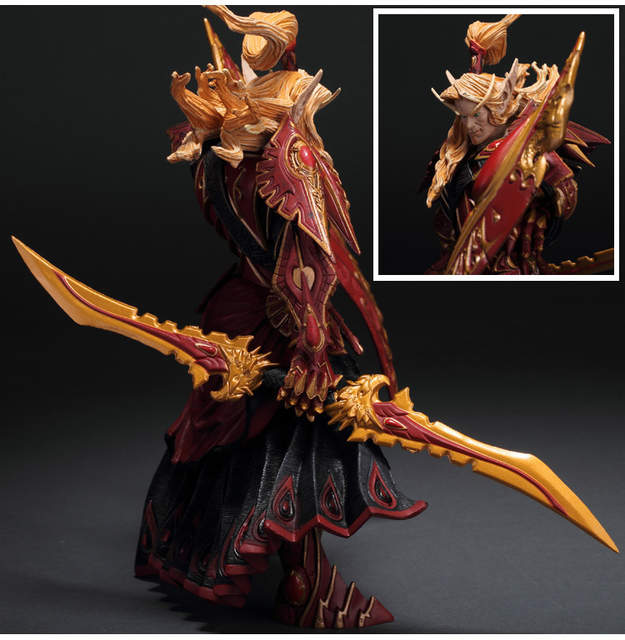 BLOOD ELF PALADIN: QUIN'THALAN SUNFIRE wow Action Figure Collectable Model  Toy