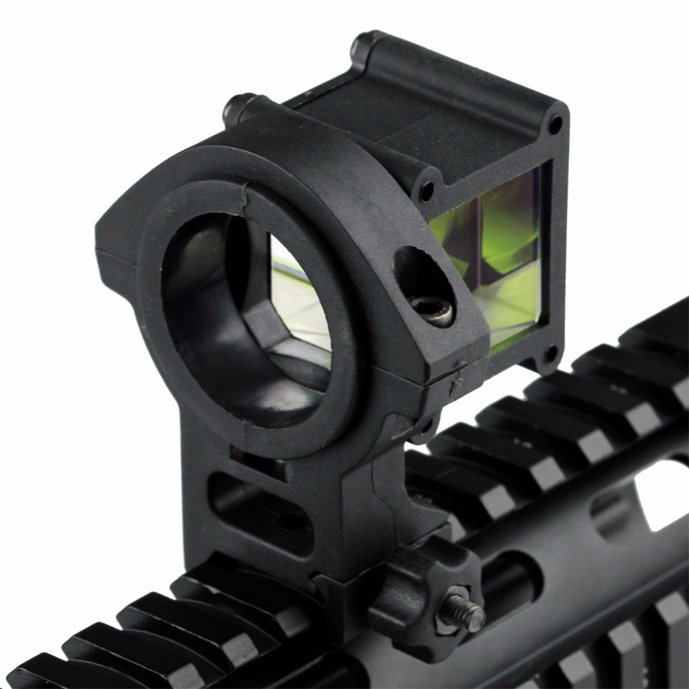 Tactical Reflect Angle Sight 360 Degree Rotate 4 Optical Sight Compatible With 20mm Weaver/Picatinny Rail for Air Rifle Gun