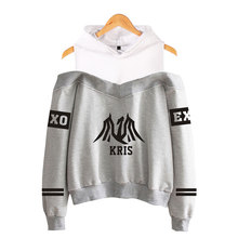 EXO Off-Shoulder Hoodies (24 Models)