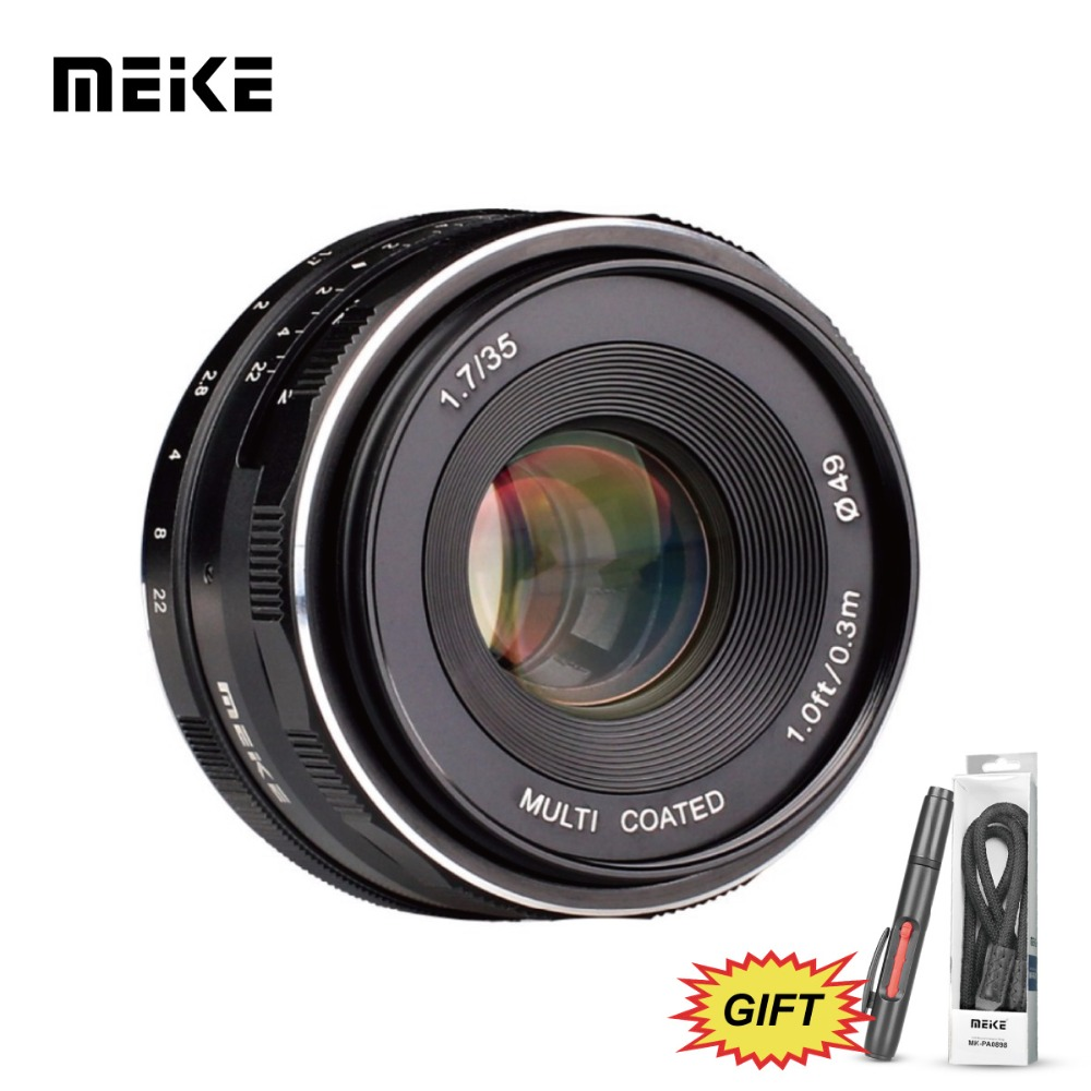 MEKE Meike MK-35mm F1.7 Large Aperture Manual Focus Lens for Nikon1 V1/V2/V3/S1/S2/J1/J2/J3/J4/J5 cameras meke meike mk 35mm f1 7 large aperture manual focus lens for nikon1 v1 v2 v3 s1 s2 j1 j2 j3 j4 j5 cameras